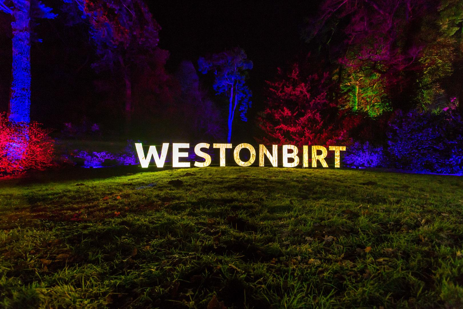 Westonbirt Enchanted Christmas Letters, projection